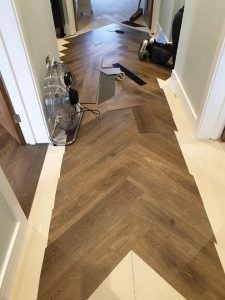 Living Floors - Amtico Spacia Before